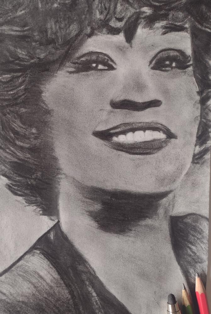 Whitney Houston by mi7ell